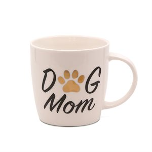 "PL TASSE "" DOG MOM """