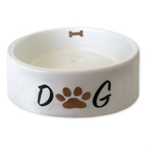 "PL ASSIETTE ANIMAUX ""DOG MOM """